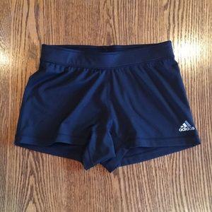 Adidas wmns spandex shorts size USA-M color black